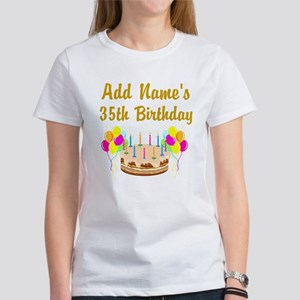 HAPPY 35TH BIRTHDAY Women's T-Shirt
