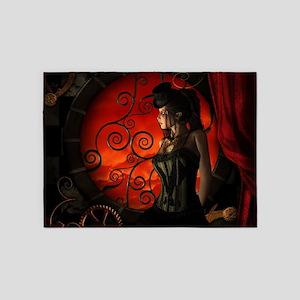 Steampunk, wonderful steampunk lady in the night 5