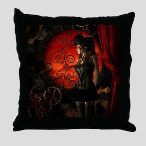 Steampunk, wonderful steampunk lady in the night T