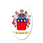 Agosto 20x12 Oval Wall Decal