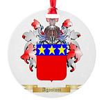 Agostoni Round Ornament