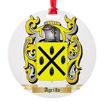 Agrillo Round Ornament