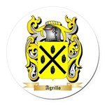 Agrillo Round Car Magnet