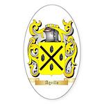 Agrillo Sticker (Oval 50 pk)