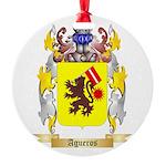 Agueros Round Ornament