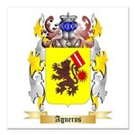 Agueros Square Car Magnet 3