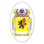 Agueros Sticker (Oval)