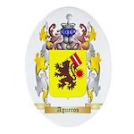 Agueros Ornament (Oval)