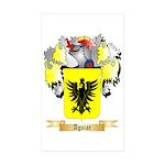 Aguiar Sticker (Rectangle 50 pk)