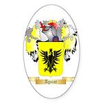 Aguiar Sticker (Oval 10 pk)