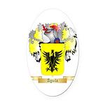 Aguila Oval Car Magnet