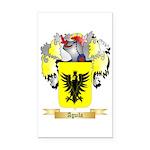 Aguila Rectangle Car Magnet