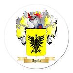 Aguila Round Car Magnet