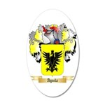 Aguila 20x12 Oval Wall Decal