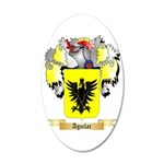 Aguilar 35x21 Oval Wall Decal