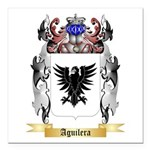 Aguilera Square Car Magnet 3