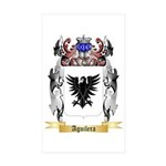 Aguilera Sticker (Rectangle 10 pk)