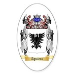 Aguilera Sticker (Oval 50 pk)