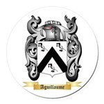 Aguillaume Round Car Magnet