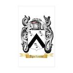 Aguillaume Sticker (Rectangle 50 pk)