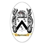Aguillaume Sticker (Oval)