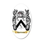 Aguillaume 35x21 Oval Wall Decal
