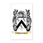 Aguillaume 20x12 Wall Decal
