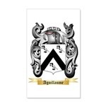 Aguillaume 35x21 Wall Decal