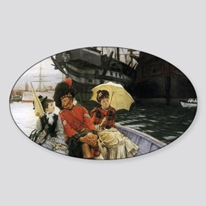 Happy Highlander Sticker (Oval)