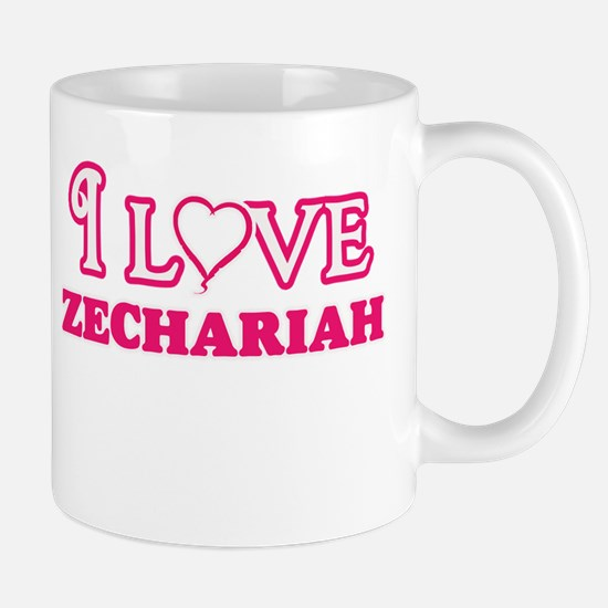 I Love Zechariah Mugs