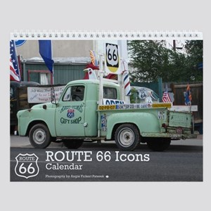 ROUTE 66 Icons Wall Calendar