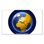 Who Are You People? Sticker (Rectangle 10 pk)