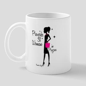 Proverbs 31 Woman in Progress Mug