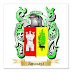 Aguinaga Square Car Magnet 3
