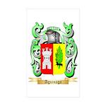Aguinaga Sticker (Rectangle 50 pk)