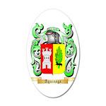 Aguinaga 35x21 Oval Wall Decal