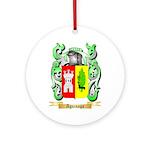 Aguinaga Ornament (Round)