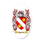 Aguirre Oval Car Magnet
