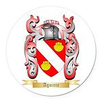 Aguirre Round Car Magnet