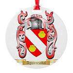 Aguirrezabal Round Ornament