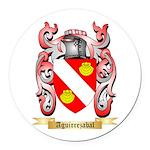 Aguirrezabal Round Car Magnet