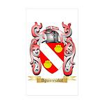 Aguirrezabal Sticker (Rectangle 10 pk)