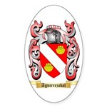 Aguirrezabal Sticker (Oval 50 pk)