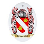 Aguirrezabal Ornament (Oval)