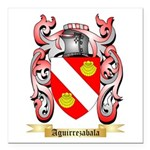 Aguirrezabala Square Car Magnet 3