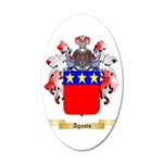 Agusto 35x21 Oval Wall Decal