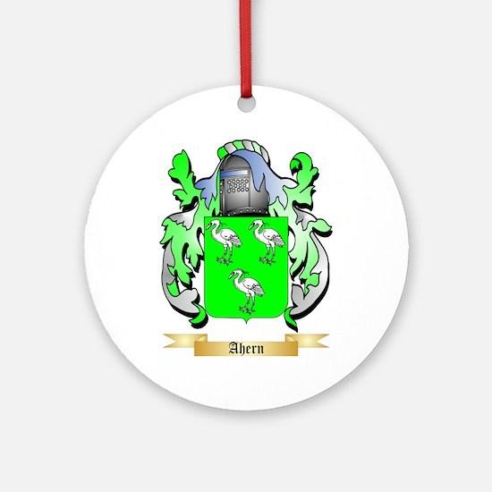 Ahern Ornament (Round)