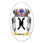 Ahlberg Sticker (Oval 10 pk)