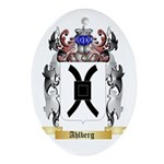 Ahlberg Ornament (Oval)