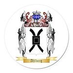 Ahlborg Round Car Magnet